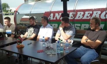 Konferencja prasowa z kadrowiczami (foto)