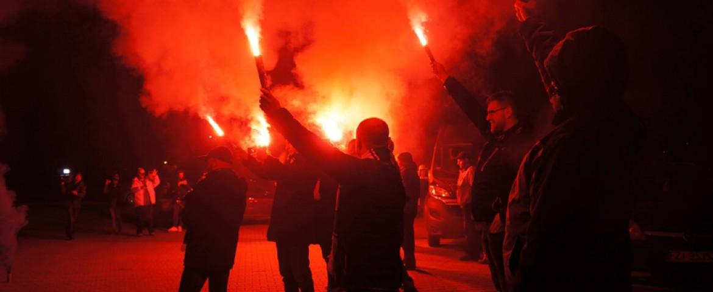 Przywitanie zwycięzców z Kazania (foto)