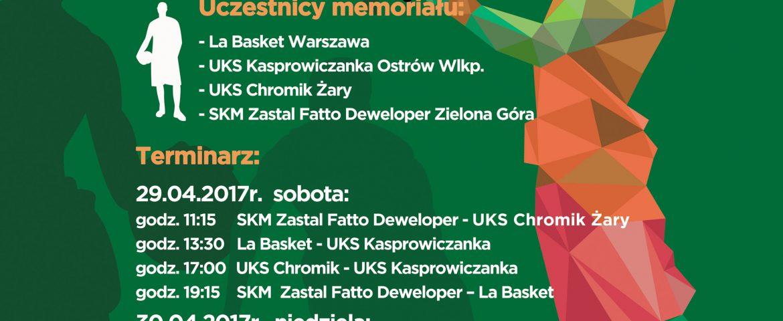 Rusza Memoriał Darka Czerniejewskiego i Tomka Kapalskiego