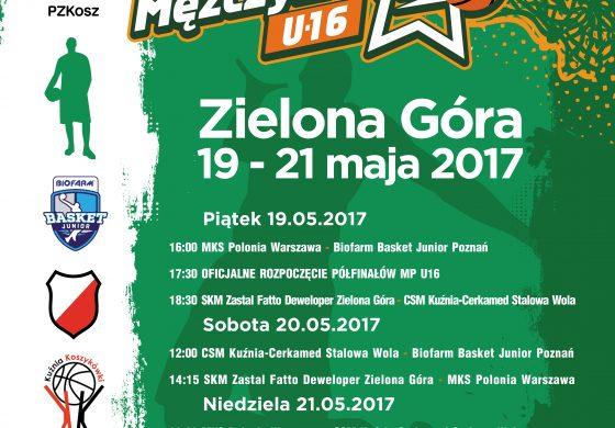 Młodzi też grają - Mistrzostwa Polski U-16 w Zielonej Górze