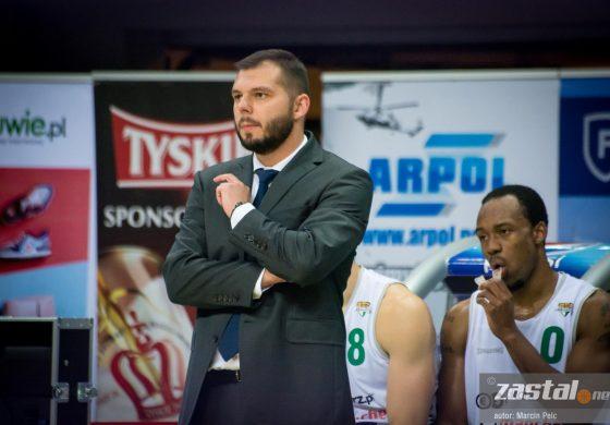 Artur Gronek nie jest już trenerem Stelmetu BC