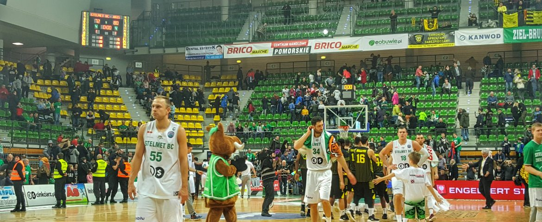 Stelmet BC oddala się od awansu – relacja oraz wypowiedzi z meczu Stelmetu BC z Aris