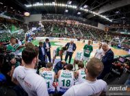 Stelmet Enea BC przegrywa sobotni pojedynek w Zgorzelcu