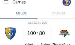 Stelmet Enea BC - Khimki 80:100