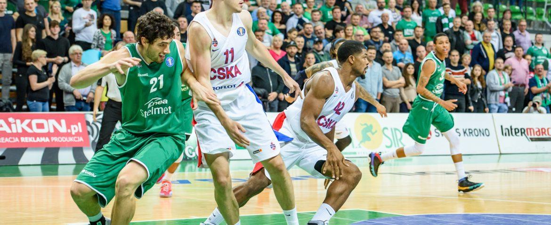 Wysoka porażka z CSKA Moskwa