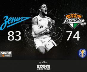Pierwszy mecz ligii VTB przegrany. Zenit - Zastal 83:74 (relacja)